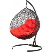 Кресло подвесное Bigarden ''Gemeni Promo'' черное красная подушка geminipromoR 2229690690423