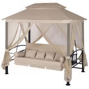 Качели садовые Удачная мебель Пальмира свтло-бежевый A31BL.T025