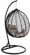 Кресло подвесное Tetchair (mod. SC-001) 14236, с подушкой, metal/artificial rattan