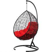 Подвесное кресло bigarden, красная подушка, tropicablackr