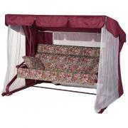 Качели садовые Удачная мебель Валенсия винный 525 A44R.525