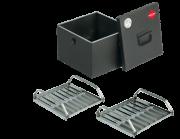 Коптильное устройство FORESTER стационарное (с 2-я решетками для копчения)