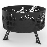 Очаг- костровая чаша Сферы Искра диаметром 800мм 3мм