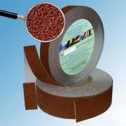 Лента противоскользящая Slip-Stop коричневая, ширина 25 мм
