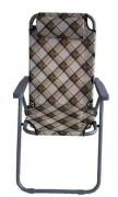 Складное кресло шезлонг Coolwalk с подголовником 5099