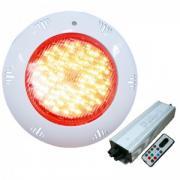 Подводный светильник светодиодный RGB (многоцветный) из ABS-пластика 12 Вт Pool King /TLQP-LED12/