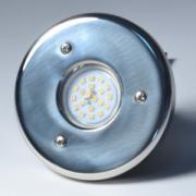 "Светодиодный прожектор Акватехника Mini АТ 16.07, 5 Вт, 2"" НР (под плитку), AISI-304"