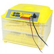 """Выводной инкубатор """"SITITEK 96"""" на 96 куриных яиц с термометром, влагомером и автоматическим переворотом, с автономным питанием 12В"""