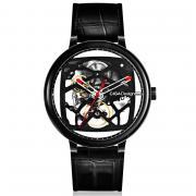 Часы механические Xiaomi MI CIGA Design Mechanical Creative Leather Strap Черные
