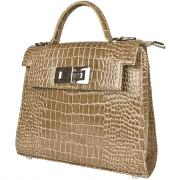 Женская сумка, бежевая Carlo Gattini 8028-13
