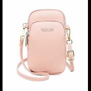 Женское портмоне-сумка Baellerry Forever Young (Розовый)