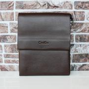 Сумка-планшет на плечо CANTLOR L851L-6 BROWN Средних Размеров