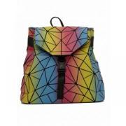 TIKO / Светоотражающий разноцветный рюкзак Хамелеон rainbow