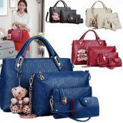 Набор стильных женских сумок