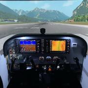 Полет на авиатренажере самолета Cessna 172 (30 мин., будний день, до 3 чел.)