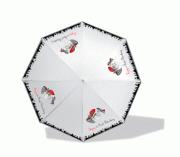 Зонт-трость, Кошка в шляпе прозрачный [UM16-900-00008]