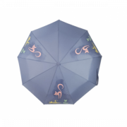 Зонт женский автоматический Diniya 949-5 (Голубой)