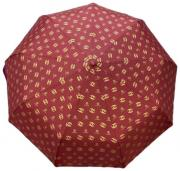 Женский складной зонт CHANEL красный AM040304