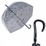 Зонт-трость женский полуавтоматический Pierre Cardin 82352-LA Triangolo прозрачный