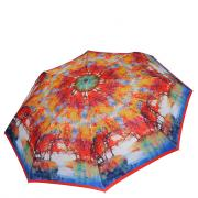 Зонт складной женский автоматический FABRETTI S-19112-1 белый