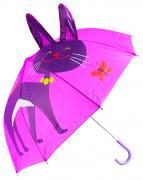 Зонт детский Sima-land фигурный Фиолетовый котёнок
