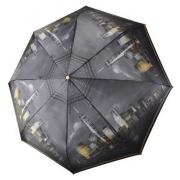 Зонт женский Три Слона 135-T-02 черный