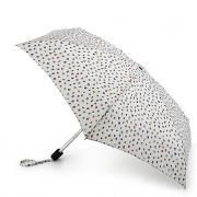Зонт складной женский механический Fulton L501-3172 белый