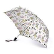 Зонт складной женский механический Fulton L501-4029 белый