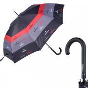 Зонт-трость женский Baldinini 37-LA Plate Grey