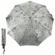 Зонт женский полуавтомат Pasio PS-6847-10 (Серо-серебристый)