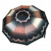 Зонт женский Три Слона 310-B-0041-04 коричневый