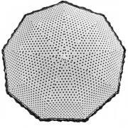 Зонт женский полуавтомат Pasio 7814-1 (Белый)