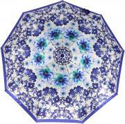 Зонт складной женский автоматический Sponsa 17000-3 белый