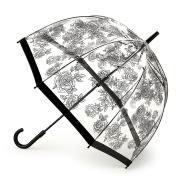 Зонт-трость женский механический Fulton L042-3729 черный