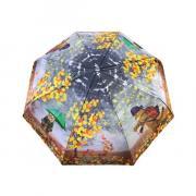Зонт подростково-женский полуавтоматический Diniya 2271 (Оранжевый)