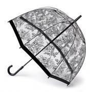 Зонт-трость механический женский Fulton L042 StencilFlower Трафарет цветка