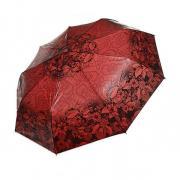 Зонт женский автоматический Tulips 011-1 (Красный)