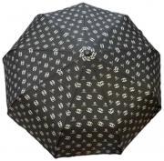 Женский складной зонт CHANEL черный AM040303