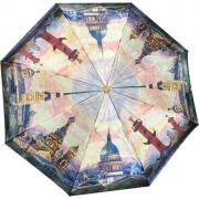 Складной зонт «Красочный Петербург» (полуавтомат)