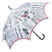Женский зонт трость оригинальной формы Guy De Jean Charme-LM Pagode 5 Journal