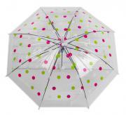 Зонт детский Кружочки, белый Sima-Land