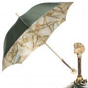 Зонт-трость женский Pasotti 1829 оливковый
