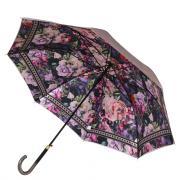 Зонт-трость женский автоматический FABRETTI 1949 фиолетовый