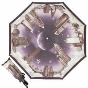 Зонт-автомат Moschino 7002-OCA Romantic City Black