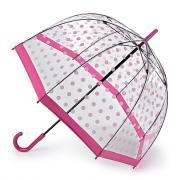 Зонт-трость женский механический Fulton L042-3388 розовый