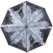 Складной зонт «Под небом Петербурга в серых тонах» (автомат)