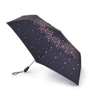 Зонт женский автомат черный Fulton L711-4038 PansyFall