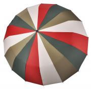 Зонт складной женский механический Три Слона 616-1 красный