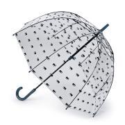 Зонт-трость женский механический Fulton L042-4030 зеленый