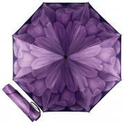 Зонт складной женский автоматический Pasotti Mini Georgin Viola фиолетовый